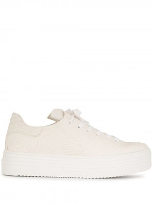 Pippy leather lace-up trainers Sam Edelman. Цвет: белый