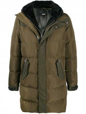Стеганое пальто Reynold Mackage. Цвет: зеленый