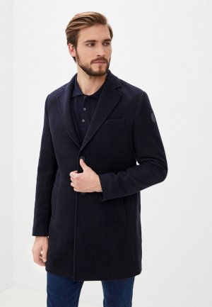 Пальто Trussardi Jeans. Цвет: синий