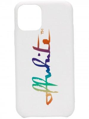 Чехол для iPhone 11 Pro Off-White. Цвет: белый
