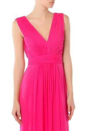 Платье Bebe. Цвет: бордовый