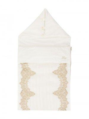 Спальный мешок Lesy. Цвет: белый