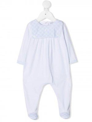 Пижама в клетку Patachou. Цвет: белый