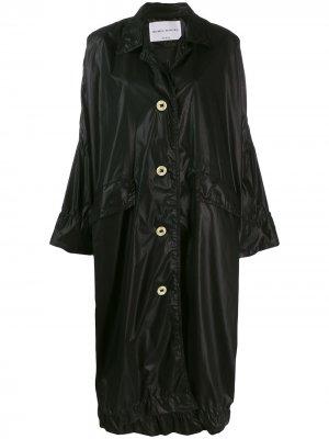 Пальто оверсайз длины миди Sonia Rykiel. Цвет: черный