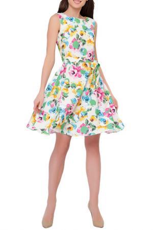 Платье Limonti. Цвет: белый