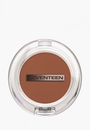 Румяна Seventeen. Цвет: коричневый