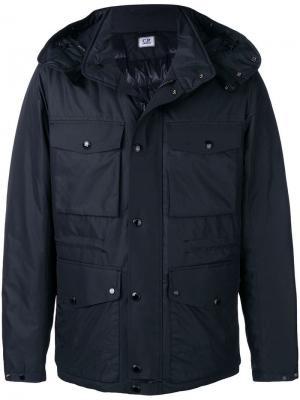 Micro M Goggle jacket CP Company. Цвет: синий