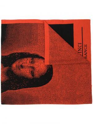 Шарф Mona Lisa Bernhard Willhelm. Цвет: желтый