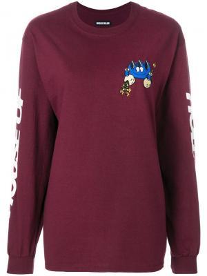 Branded money man sweatshirt House Of Holland. Цвет: розовый