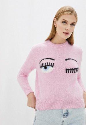 Джемпер Chiara Ferragni Collection. Цвет: розовый