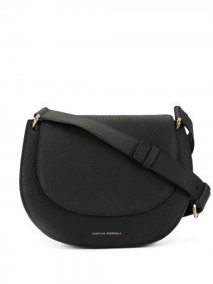 Полукруглая сумка через плечо Loeffler Randall. Цвет: черный