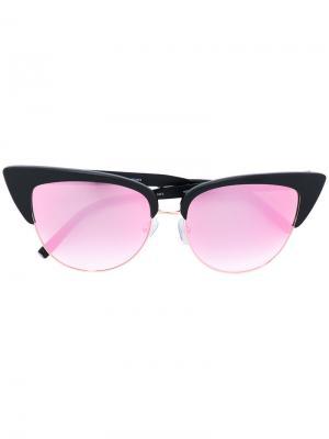 Солнцезащитные очки формы кошачий глаз Matthew Williamson. Цвет: черный