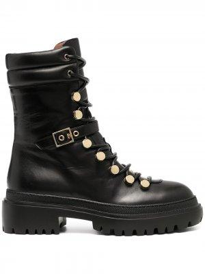 LAutre Chose ботинки на шнуровке L'Autre. Цвет: черный