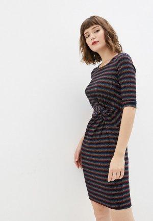 Платье Yumi. Цвет: разноцветный