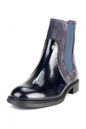 Ботинки PERTINI. Цвет: синий