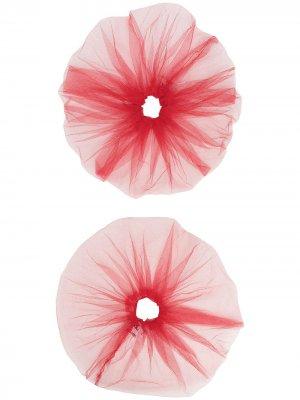 Резинка для волос Atu Body Couture. Цвет: красный