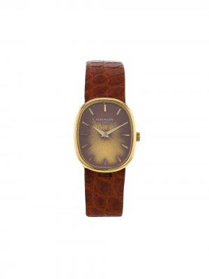 Наручные часы Ellipse pre-owned 28 мм 1977-го года Patek Philippe. Цвет: burgundy,gilt