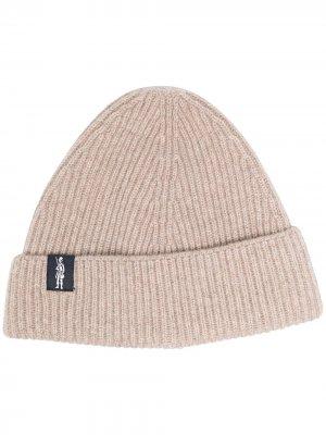 Кашемировая шапка бини on Mackintosh. Цвет: нейтральные цвета