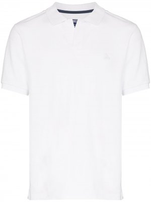 Рубашка-поло Palatin с короткими рукавами Vilebrequin. Цвет: белый