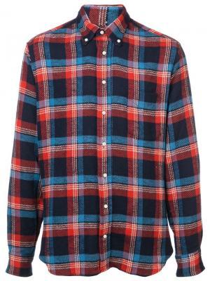 Фланелевая рубашка Wyomig Gitman Vintage. Цвет: красный