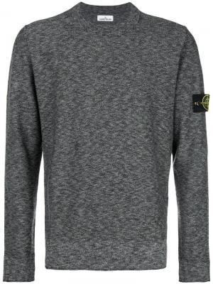 Melange sweatshirt Stone Island. Цвет: серый