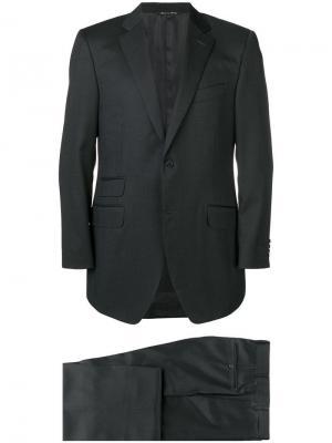 Boxy fit suit Canali. Цвет: черный