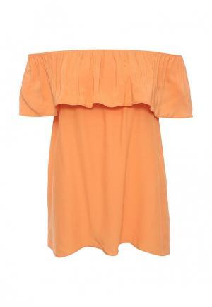 Блуза adL. Цвет: оранжевый