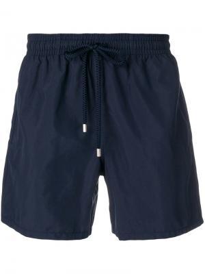 Базовые плавательные шорты Vilebrequin. Цвет: синий