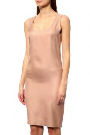 Платье Les Copains. Цвет: бежевый