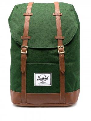 Рюкзак Retreat Herschel Supply Co.. Цвет: зеленый