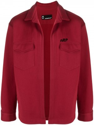 Куртка из джерси с капюшоном Styland. Цвет: красный