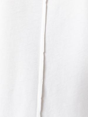 Футболка кроя слим без рукавов Damir Doma. Цвет: нейтральные цвета
