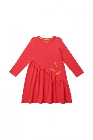 Платье Kogankids. Цвет: красный