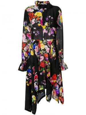 Платье Nora Preen By Thornton Bregazzi. Цвет: черный