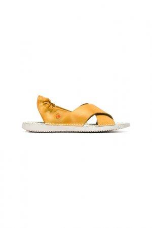 Туфли SOFTINOS. Цвет: желтый