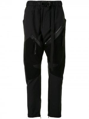 Спортивные брюки с карманами NILøS. Цвет: черный
