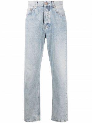 Прямые джинсы Tom Wood. Цвет: синий
