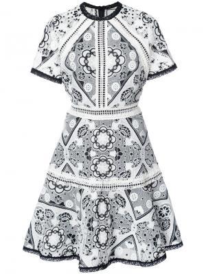 Lace dress Alexis. Цвет: белый