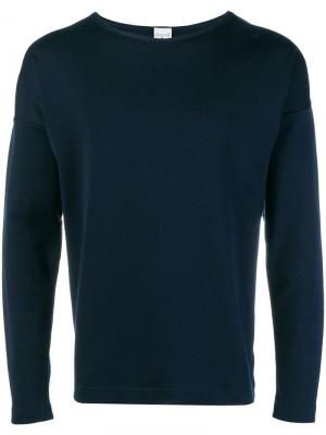 Long sleeve T-shirt S.N.S. Herning. Цвет: синий