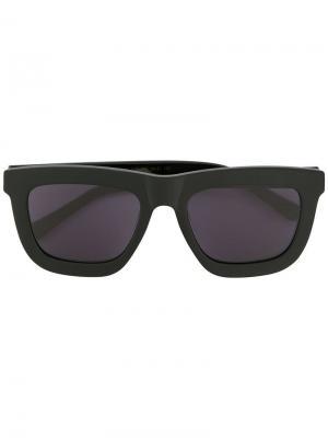 Солнцезащитные очки Deep Worship Karen Walker. Цвет: черный