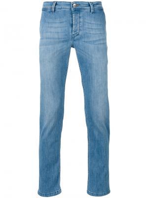 Облегающие джинсы Re-Hash. Цвет: синий