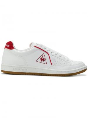 Logo lace-up sneakers Le Coq Sportif. Цвет: белый