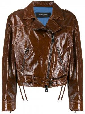Куртка Wendy свободного кроя Simonetta Ravizza. Цвет: коричневый