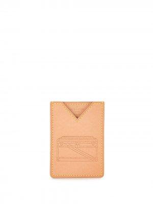 Папка для документов Volez Voguez 2018-го года pre-owned Louis Vuitton. Цвет: коричневый