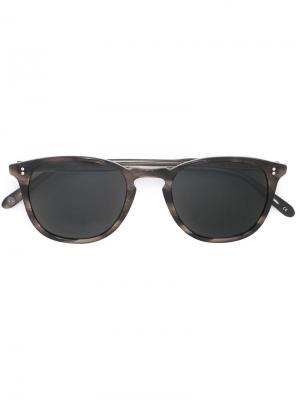 Солнцезащитные очки Kinney Garrett Leight. Цвет: серый