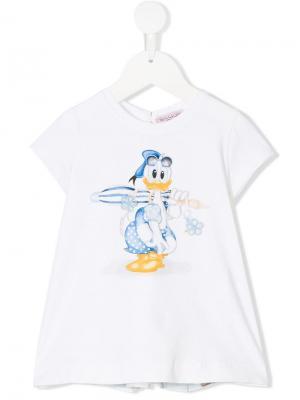 Топ Donald Duck Monnalisa. Цвет: белый