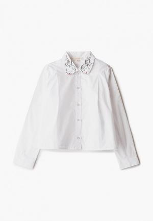 Рубашка Catimini. Цвет: белый