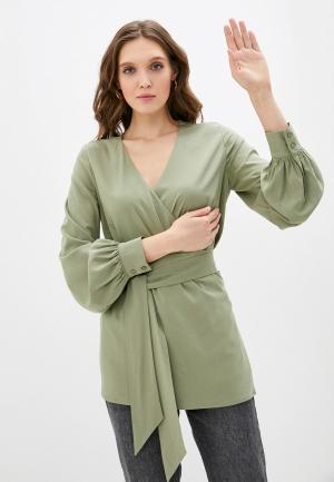 Блуза TrendyAngel. Цвет: зеленый