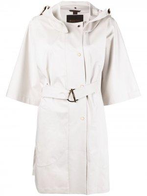 Пальто с широкими рукавами Moorer. Цвет: нейтральные цвета
