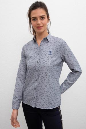 Рубашка U.S. POLO ASSN.. Цвет: vr006 серый